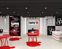 thinkpad联想专卖店设计-上海左学品牌策划