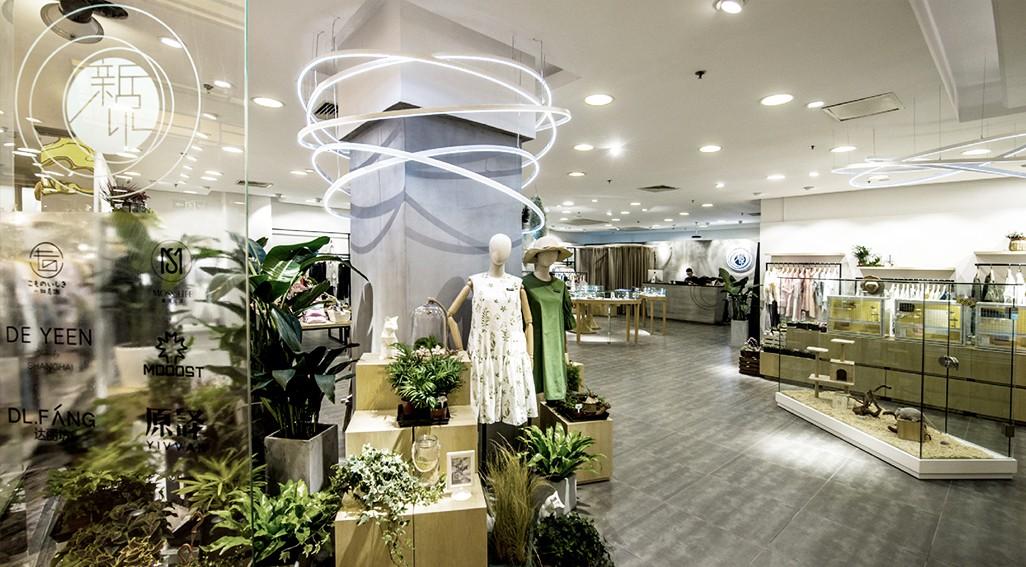 新世界集合店设计施工上海左学品牌策划4