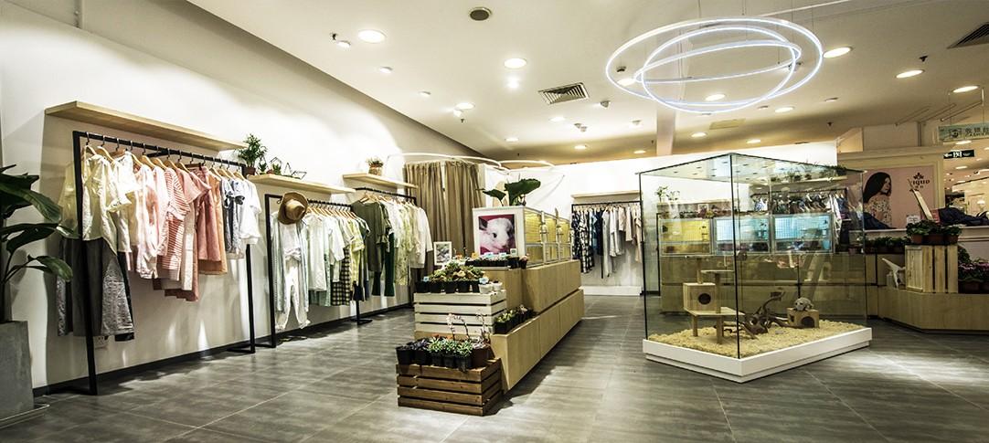 新世界集合店设计施工上海左学品牌策划5